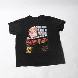Vintage inspired Mario NES t shirt